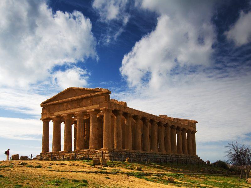 Sicilië Agrigento Vallei der Tempels Concordia
