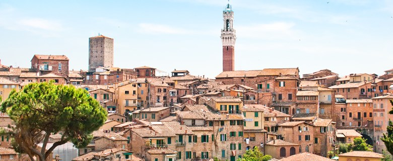 Siena agriturismo stad toren