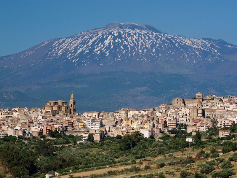 Sicilië Etna Catania