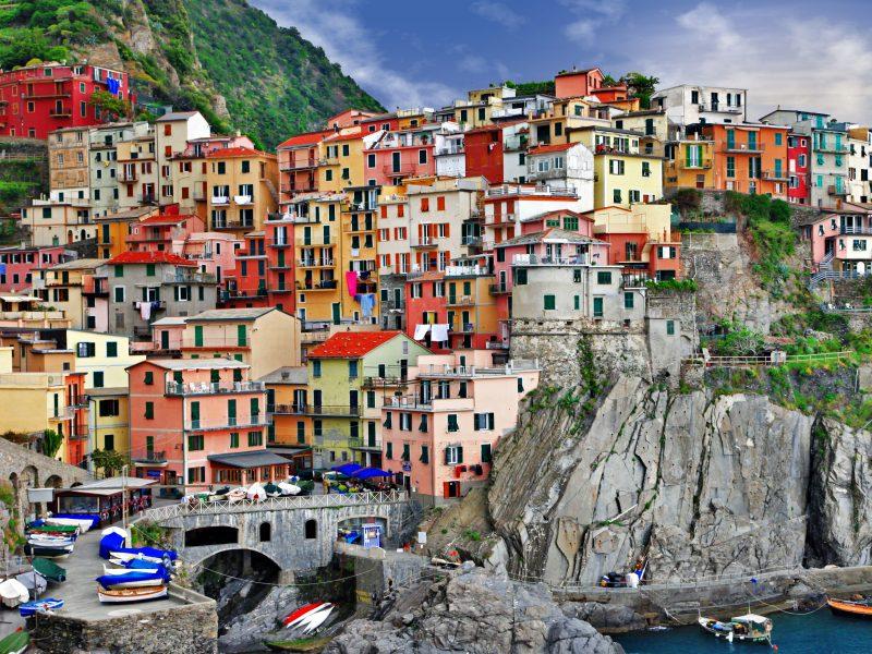 Bloemenrivièra stad kleuren