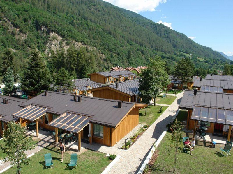 Dolomiti Camping Village overview vakantiewoningen