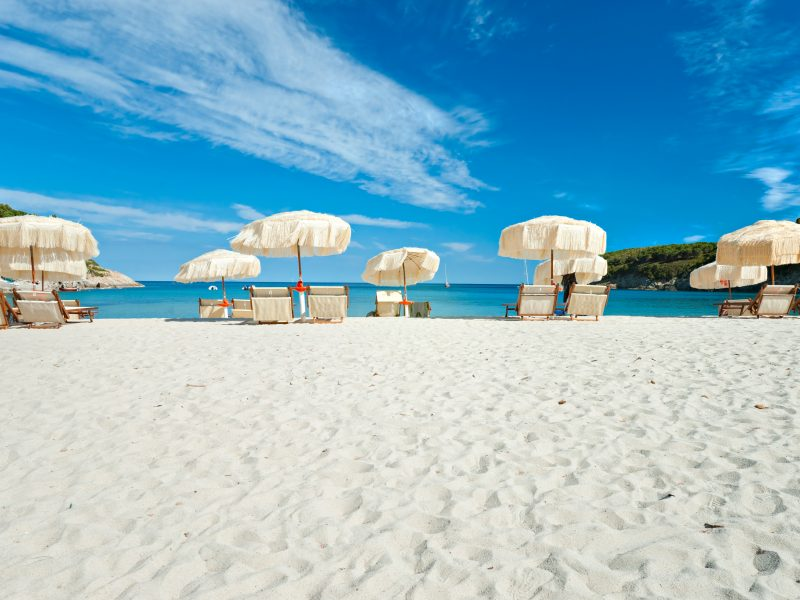 Elba zee strand parasols