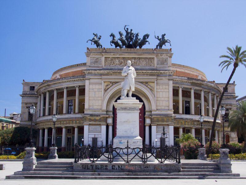 Sicilië Palermo plein