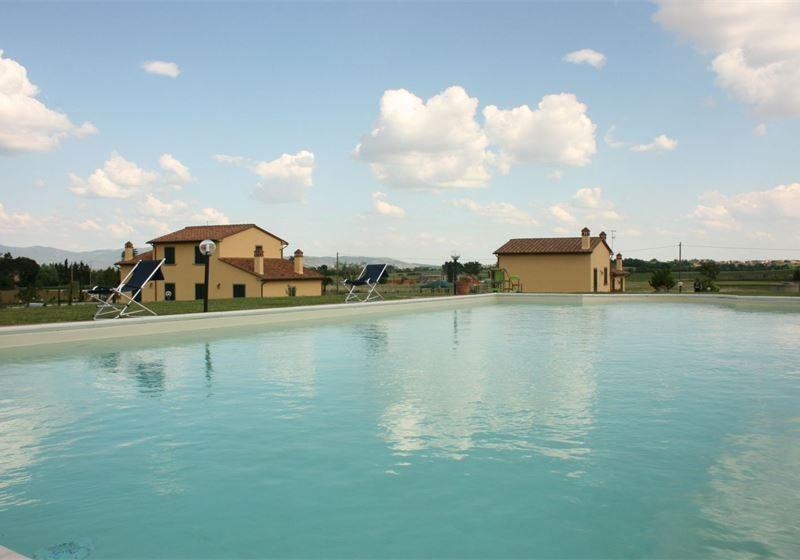 Podere Marcigliano vakantiewoningen agriturismo zwembad