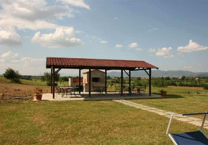 Podere Marcigliano vakantiewoning agriturismo lounge