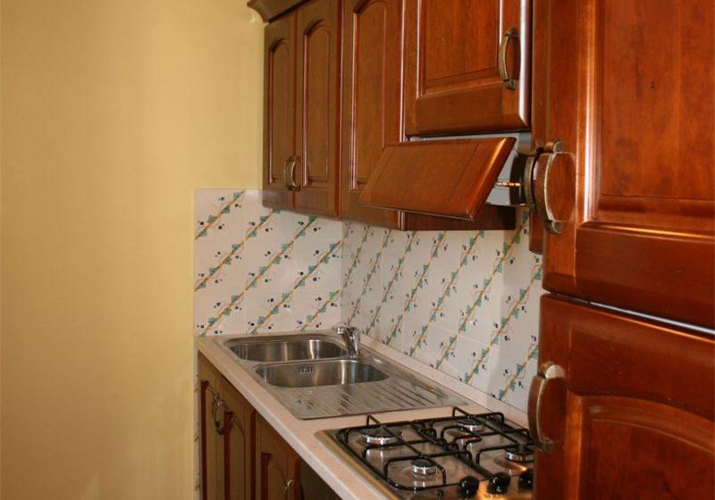 Podere Marcigliano vakantiewoning keuken