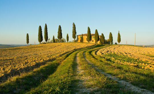 Agriturismo aan de Toscaanse kust