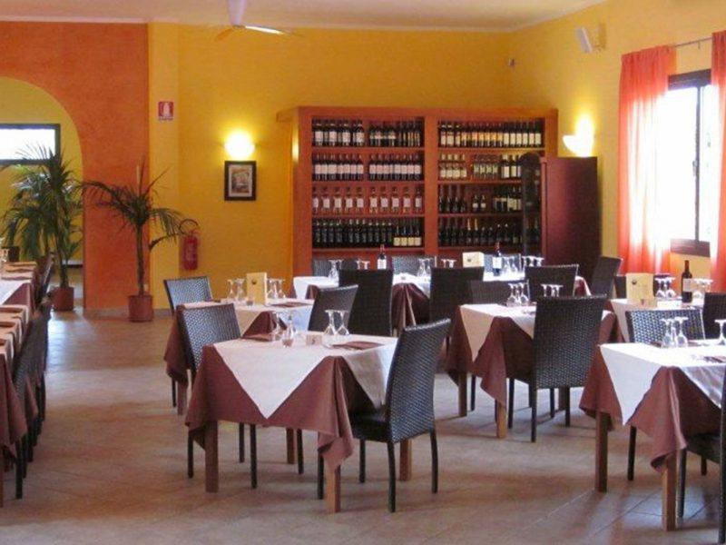 Villagio Oasimaremma restaurant binnen
