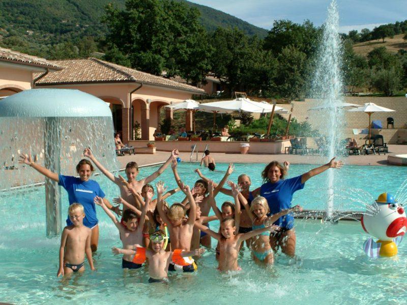 Villagio Oasimaremma zwembad animatie