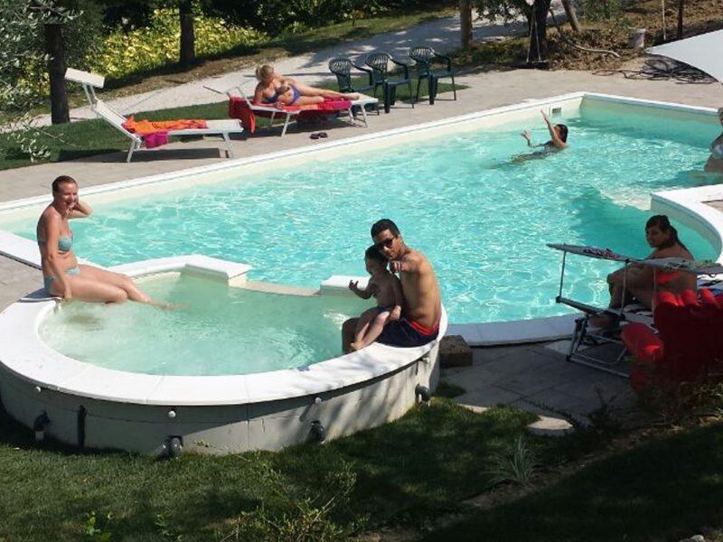 Casa Renili agriturismo zwembad jacuzzi