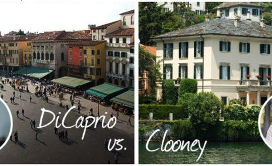 Clooney vs. Di Caprio: Wie heeft het fijnste vakantiehuis in Italië?