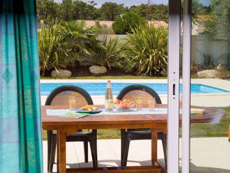 Vakantiehuis met zwembad eten
