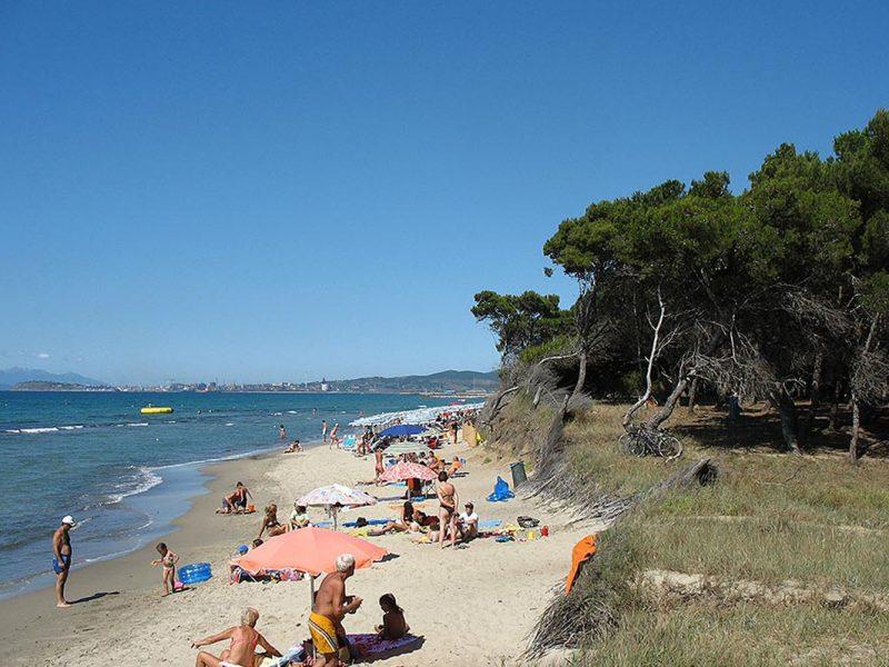 Residence Ghiacci Vecchi zee strand