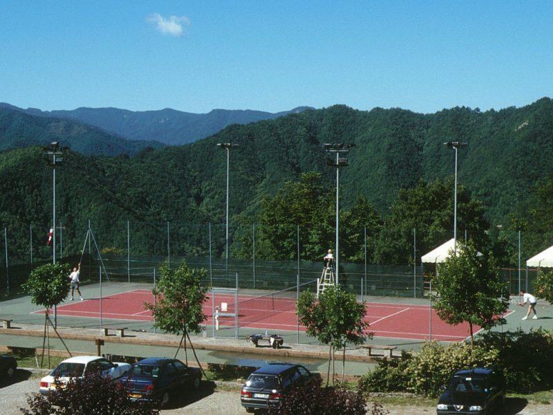 Antico Borgo I Cancelli tennisbaan