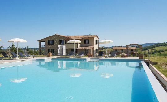 5 agriturismo's met een luxe zwembad