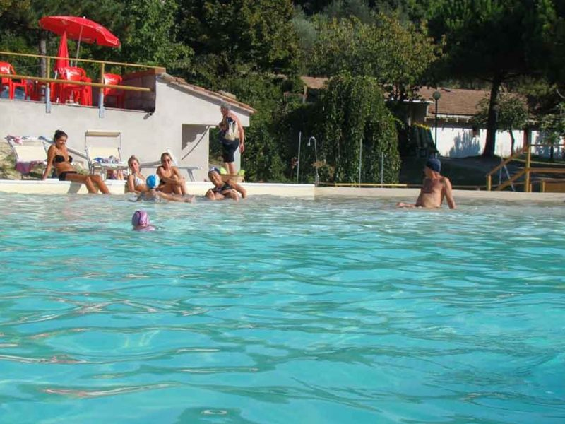 Camping Paradiso zwemmen