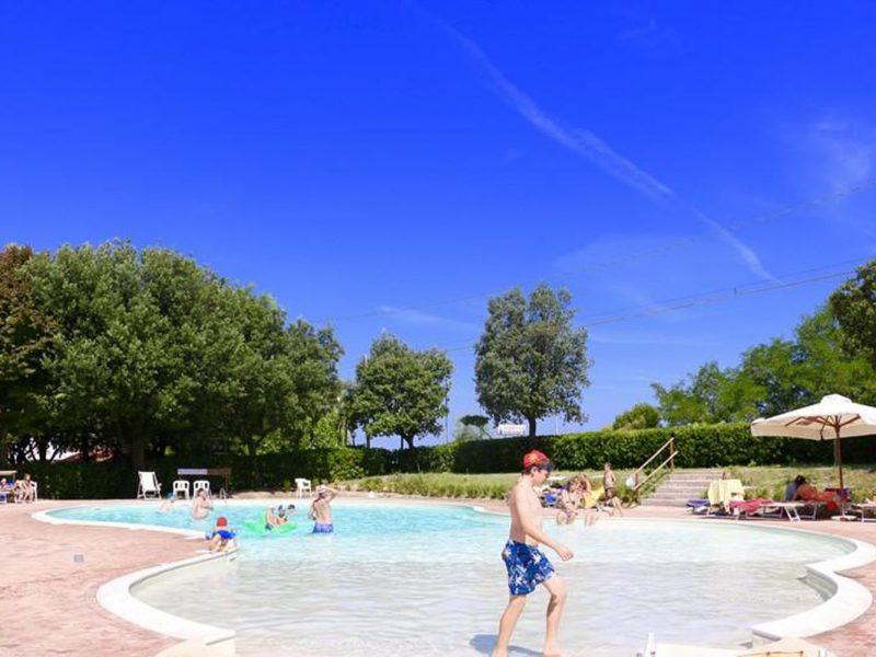 Camping Paradiso zwembad