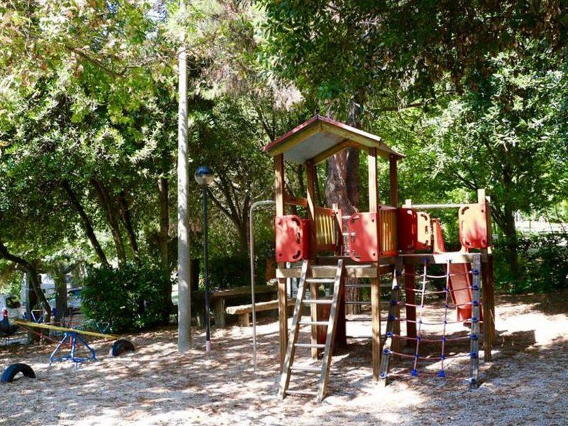 Camping Paradiso speeltuin