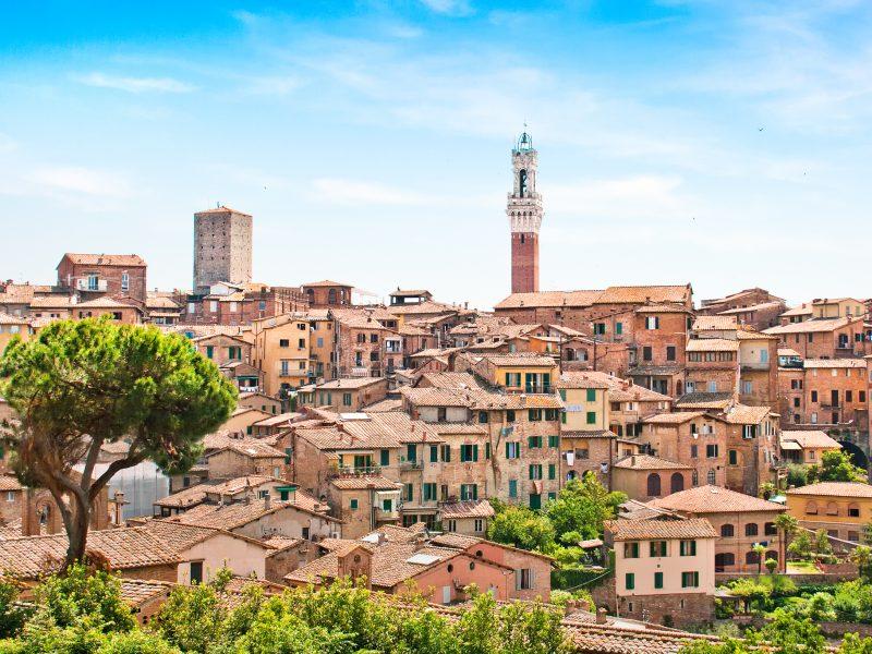 Italië Toscane Siena