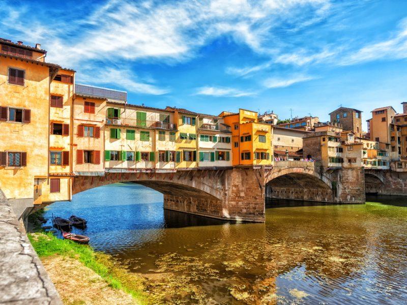 Florence brug rivier