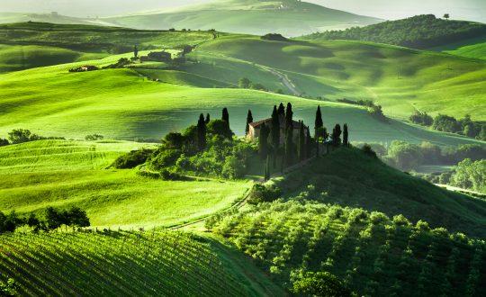 Drie boeken over Toscane