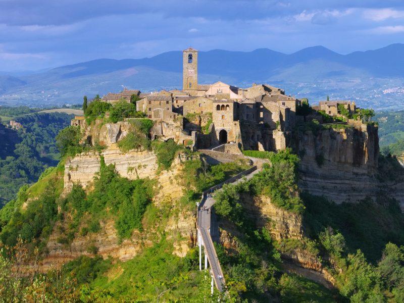 Umbrië kasteel