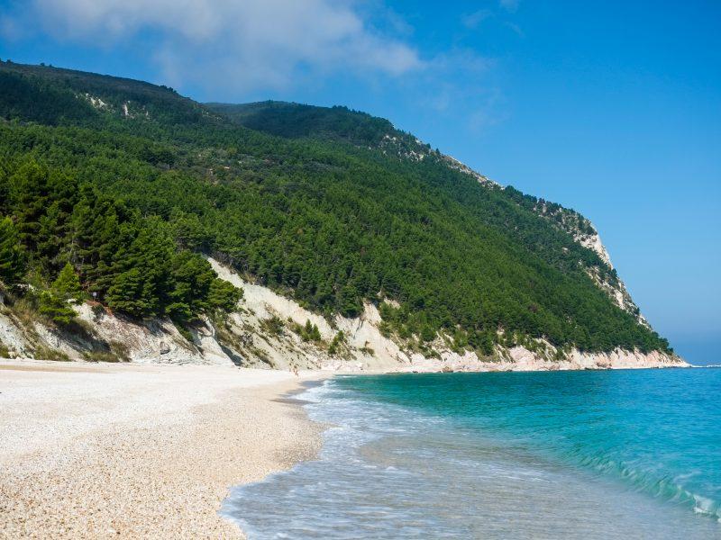 Marche strand natuur zee