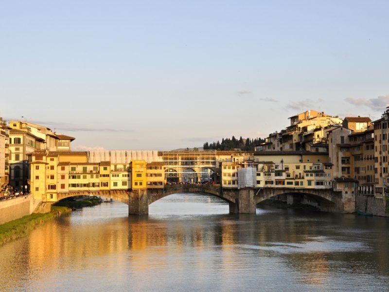 Florence brug stad