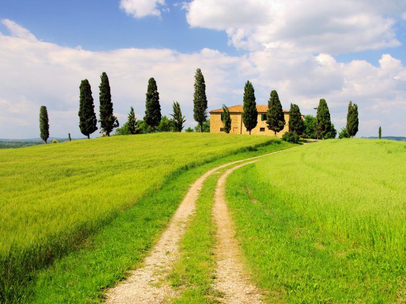 Toscane agriturismo pad