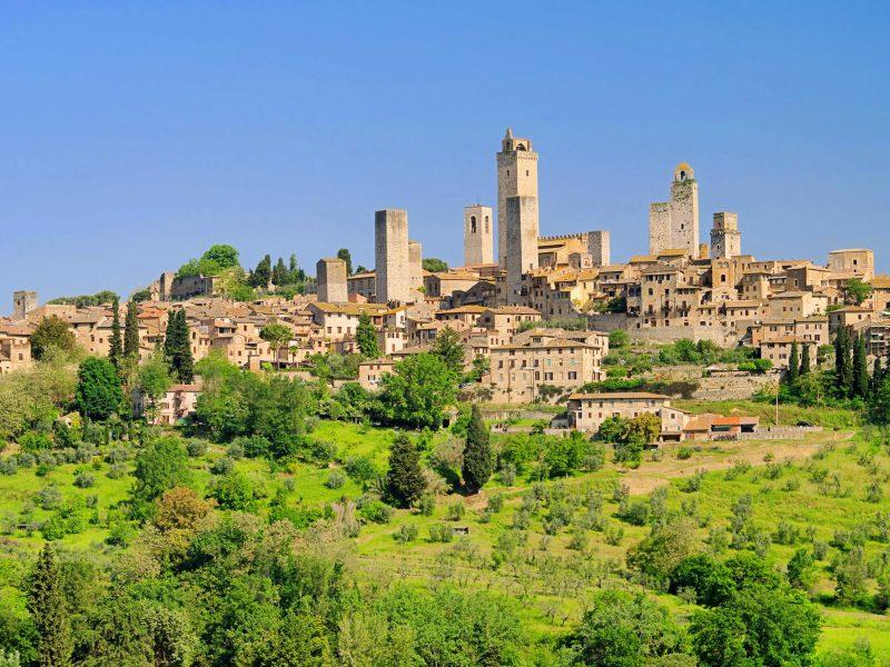 Italië Toscane San Gimignano