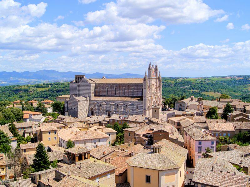 Umbrië stad kathedraal van Orvieto