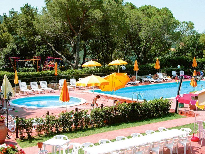 La Pieve di Pomaia zwembad zwemplezier