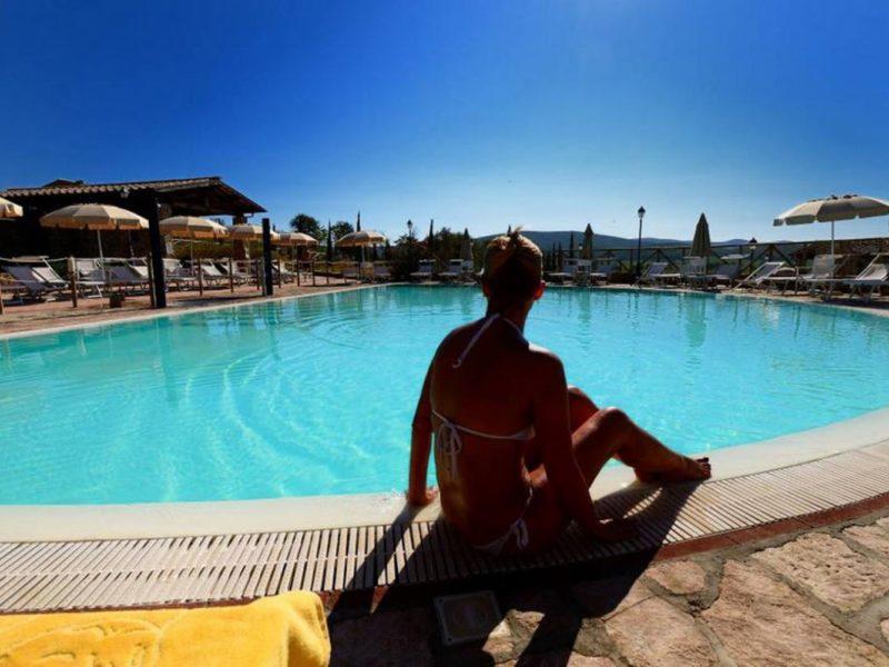 Antico Borgo Casalappi agriturismo zwembad