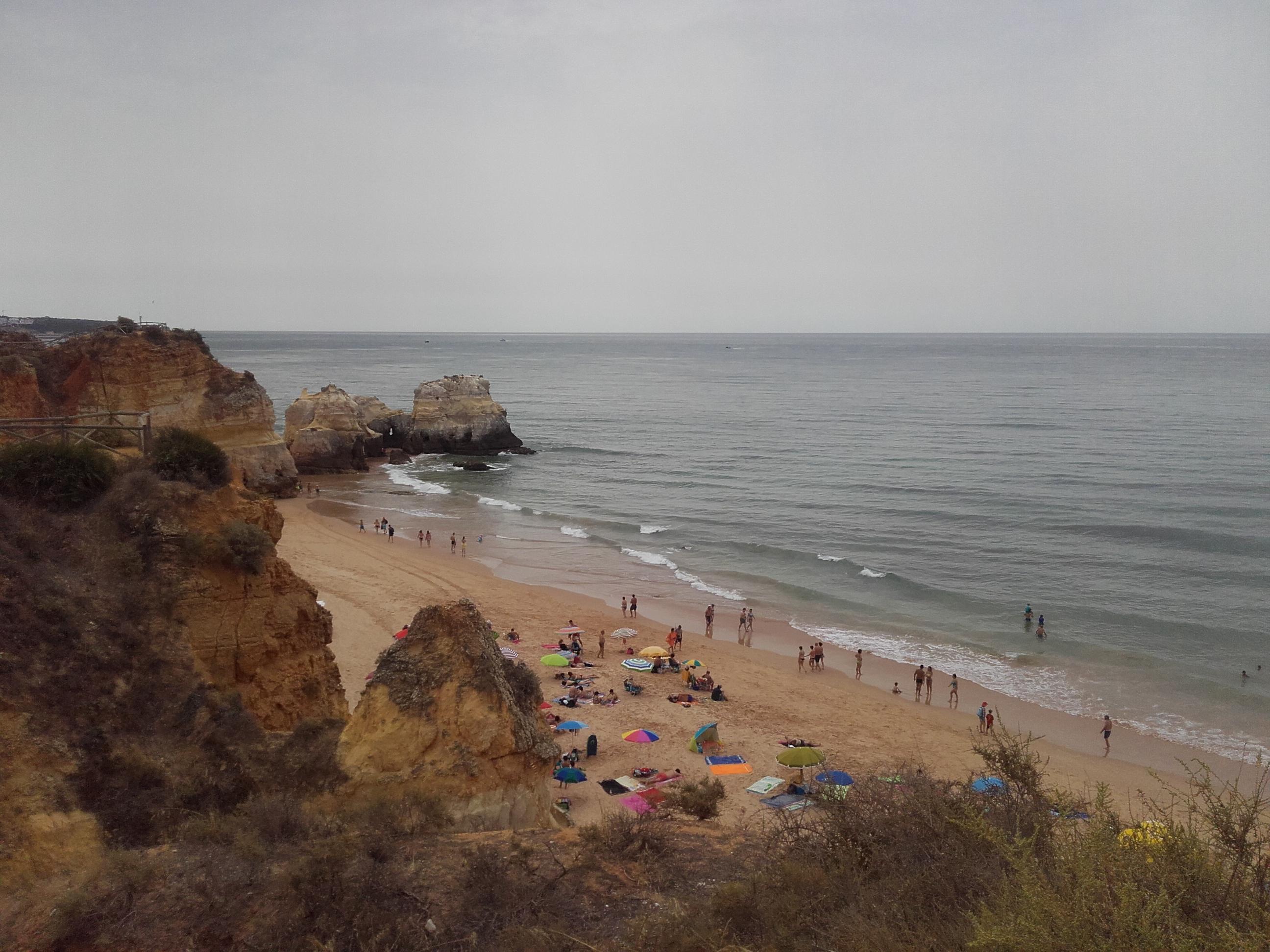 strand-Algarve Praia da Rocha