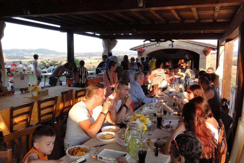 Pelagaccio eten Vakantiehuisje strand Toscane