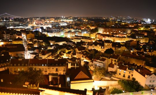 De mooiste skybars in Lissabon