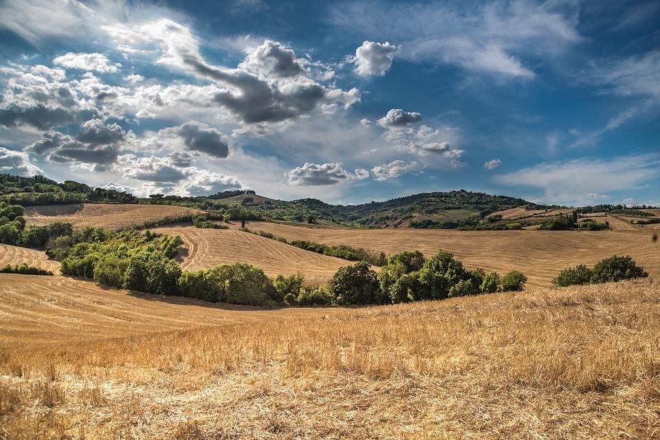 uitzicht agriturismo toscane