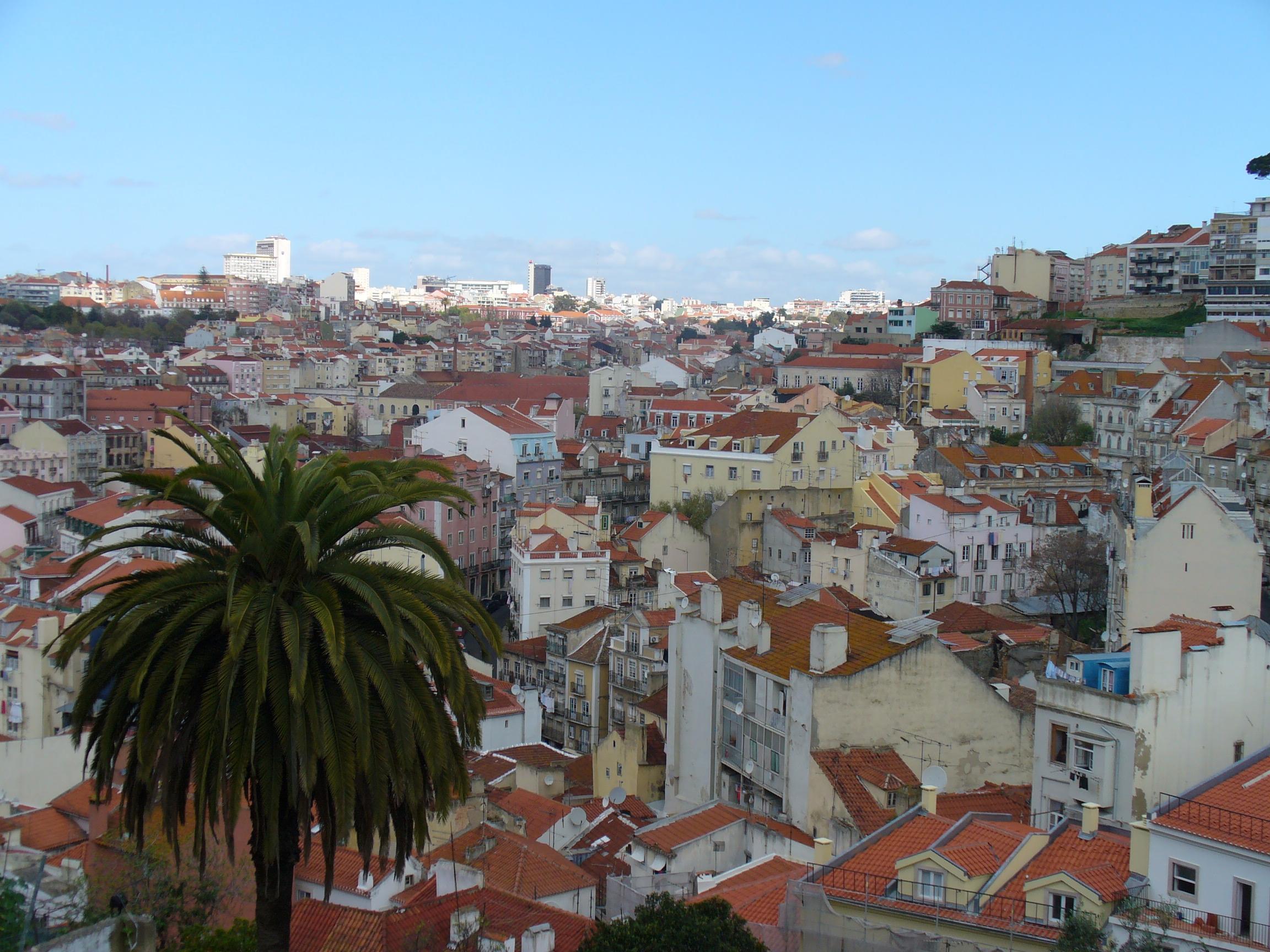uitzicht Lissabon Skybar