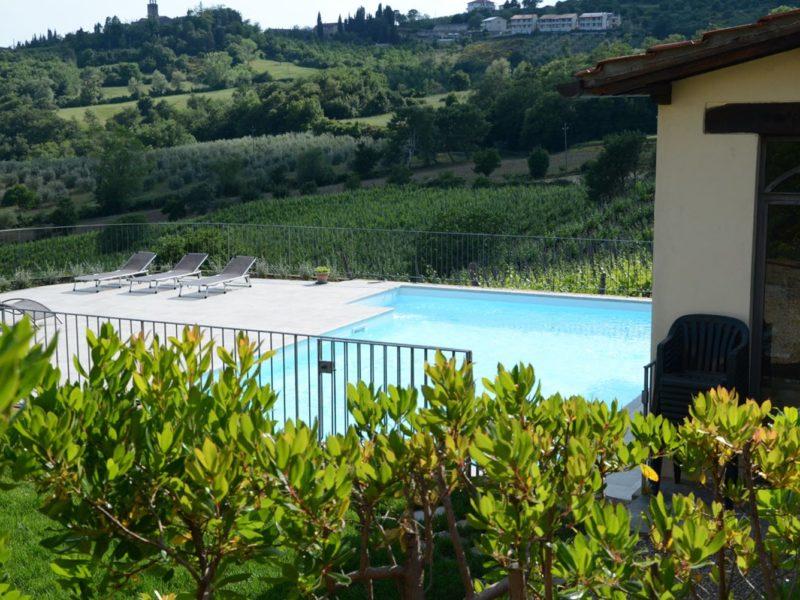 cincinelli zwembad uitzicht