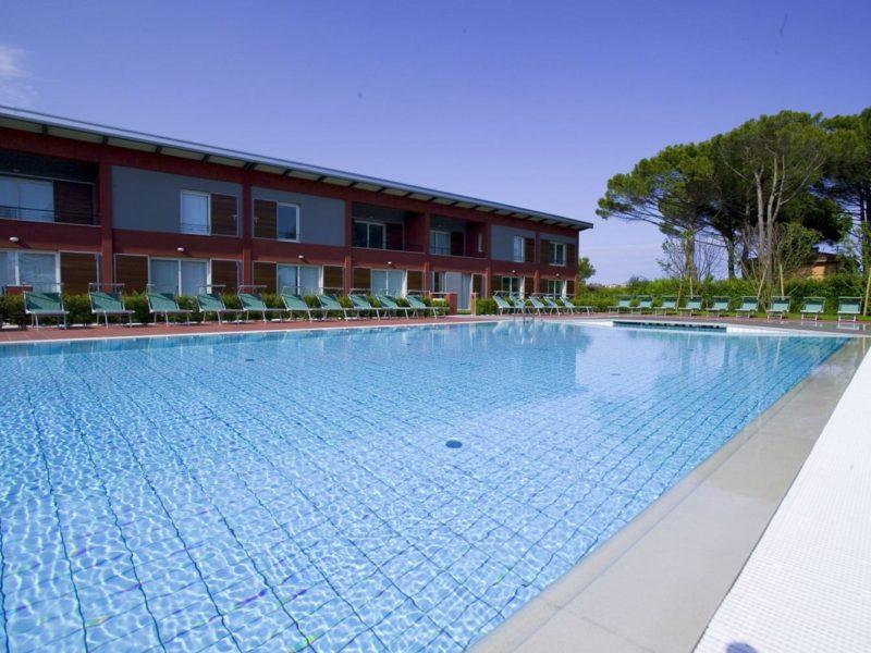 vakantiewoning zwembad