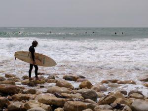 naar Portugal - stranden, surfer - Charmequality