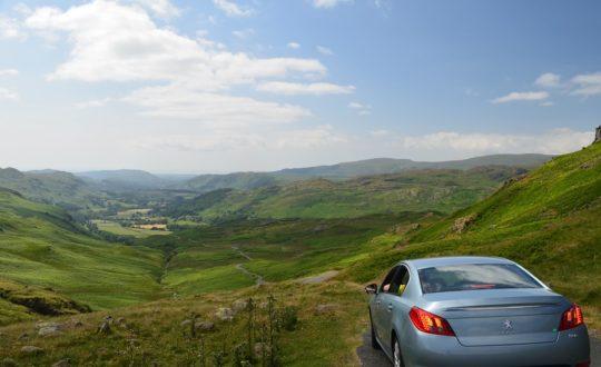 Huur een auto en ontdek de omgeving!