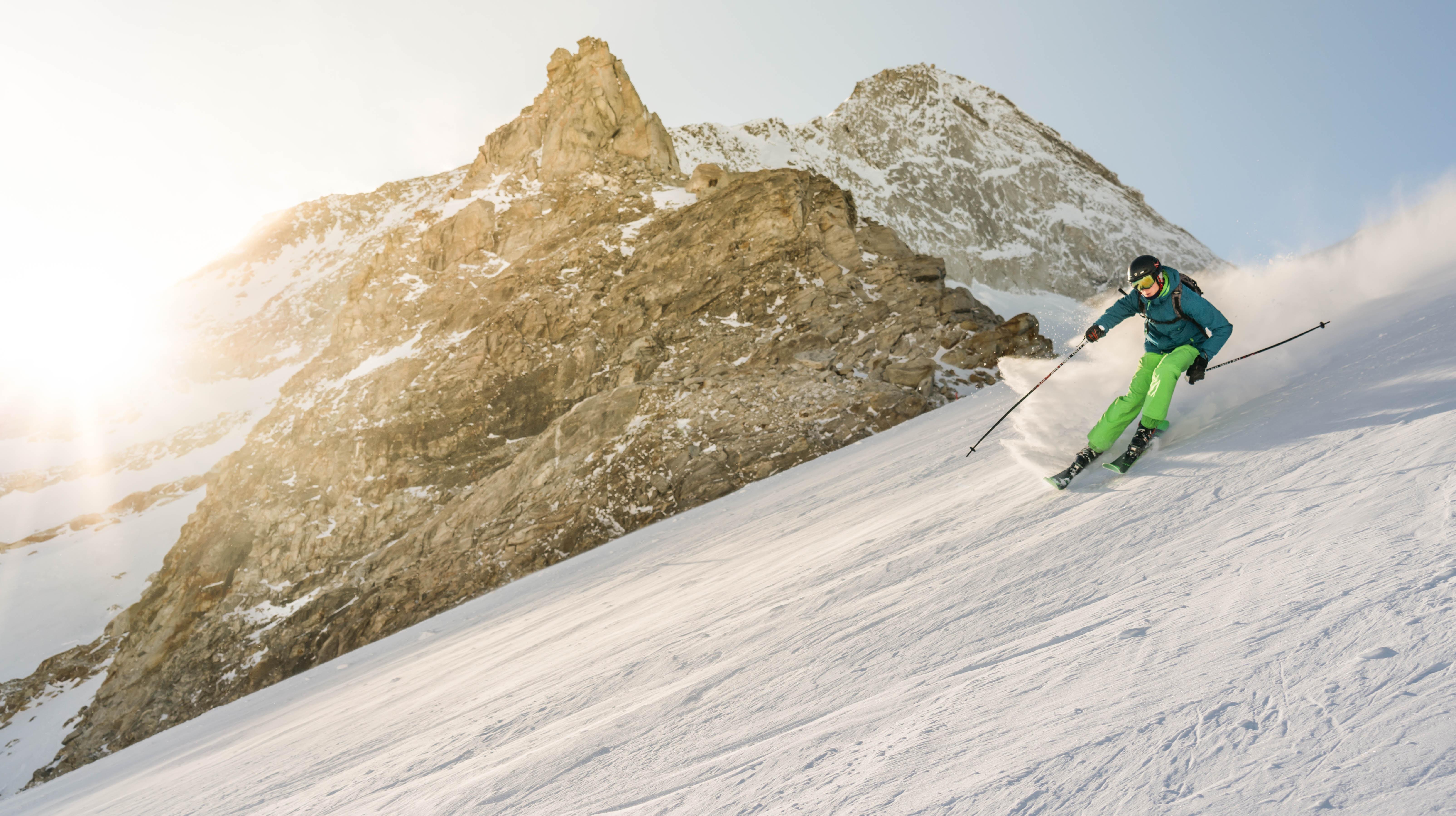 Voorbereid op wintersport - skiën