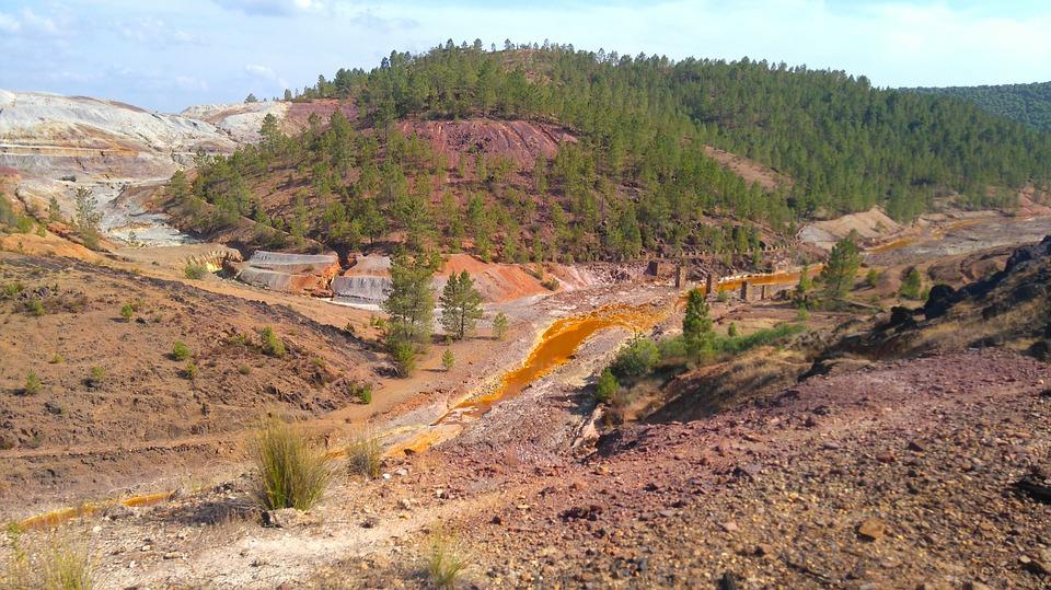 vakantie in Spanje - minas de riotinto