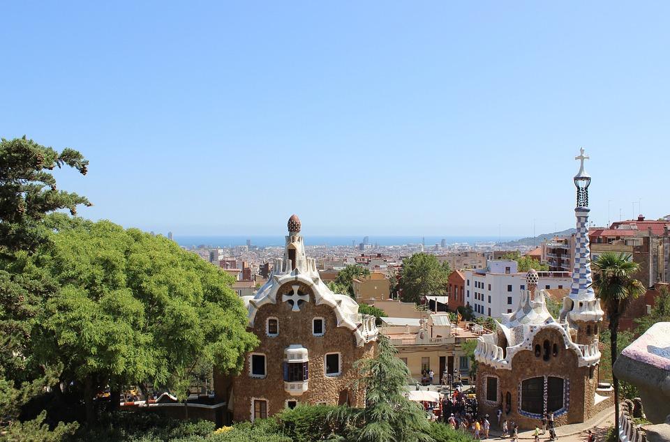 vakantie in Spanje - park guell