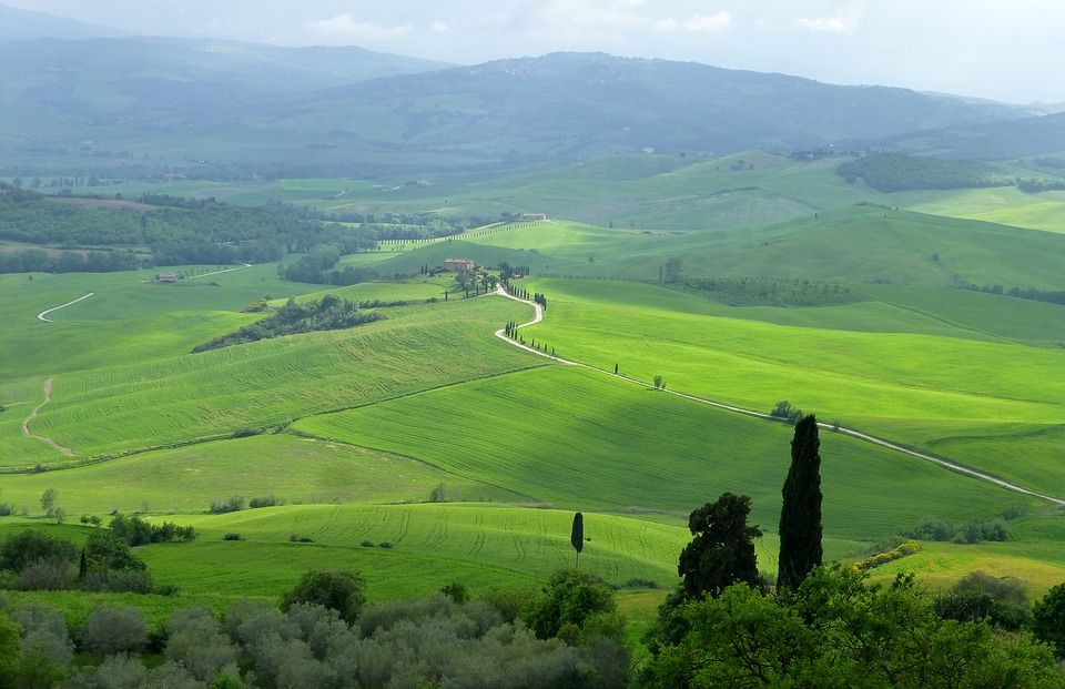 roadtrip door Toscane