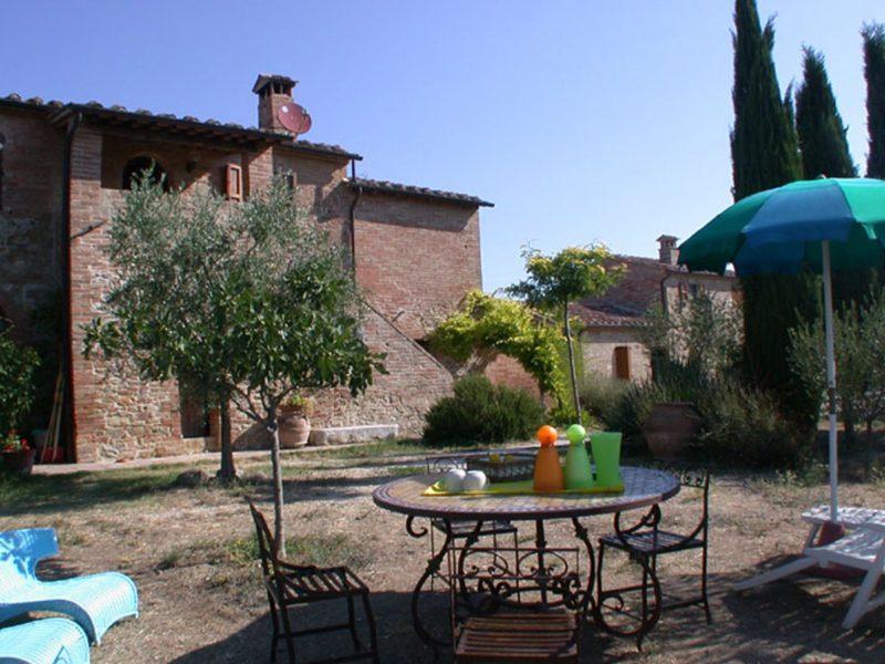 Slapen bij de boer in accommodatie Quarantallina in Toscane Italië.