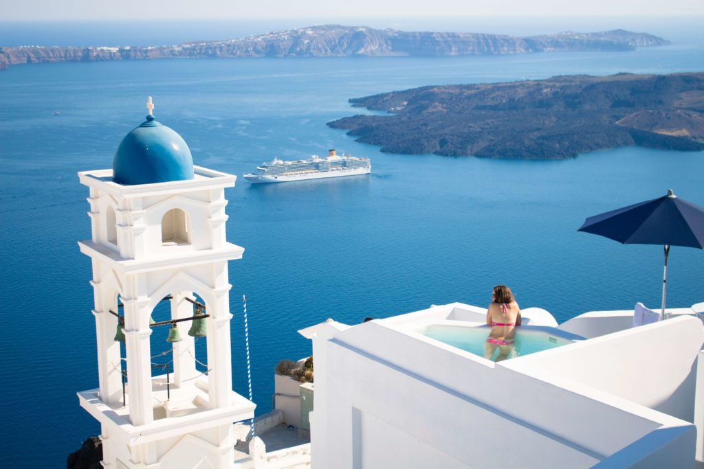 Imerovigli, Santorini, Griekenland